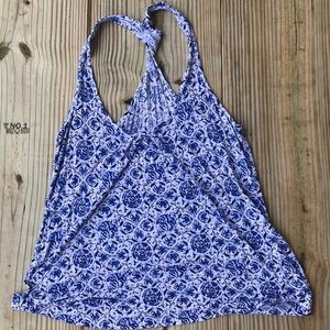 ⭐️5 for 35 Converse paisley racer back tank top